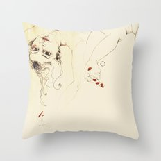 desnudas Throw Pillow