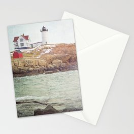 Cape Neddick Lighthouse Stationery Cards