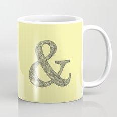 Yellow Ampersand Coffee Mug