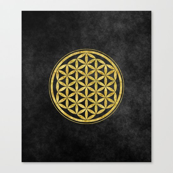 Flower Of Life 007 Canvas Print