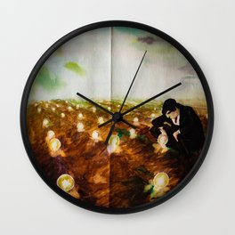 The Lost Lights Wall Clock
