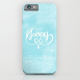 Goopy — Blue iPhone Case