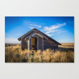 Chicken House, Backroads Farmstead, Valley County, MT Canvas Print