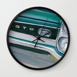 66 GTO Wall Clock