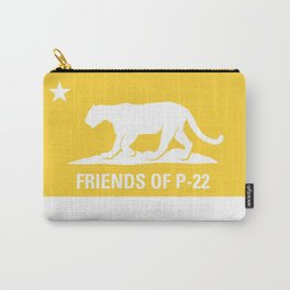 P-22 Mountain Lion Yellow Carry-All Pouch