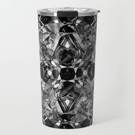 diamond cut Travel Mug