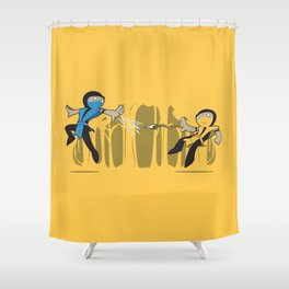 Round One Shower Curtain