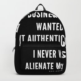 5  | Nipsey Hussle Quotes Backpack