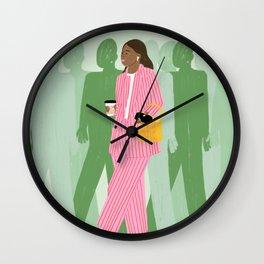 Girl Boss Wall Clock