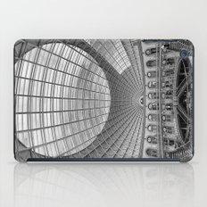 The Corn Exchange Interior In Monochrome iPad Case
