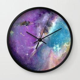 an endless journey Wall Clock