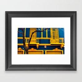 La Boca II Framed Art Print