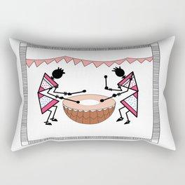 Saura_Tribal_Art_03 Rectangular Pillow