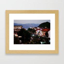 Marmaris views Framed Art Print