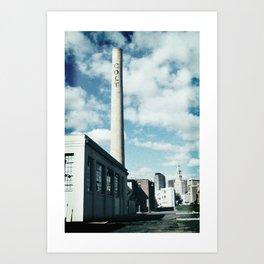 colt stack pipe  Art Print