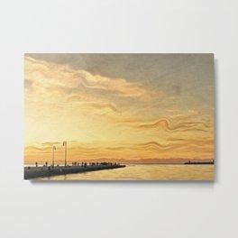 Trieste. The Molo Audace Metal Print