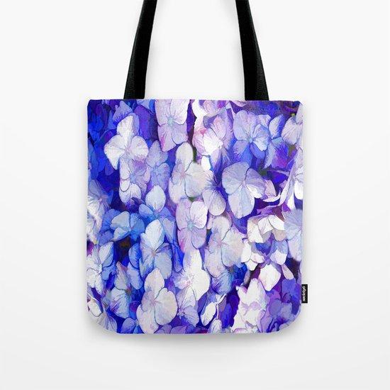 Watercolor Hydrangea Tote Bag