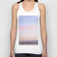 norway Tank Tops featuring Norway by Hana Savana