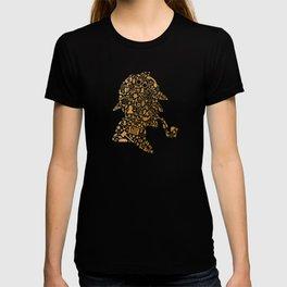 Sherlock - Gold T-shirt