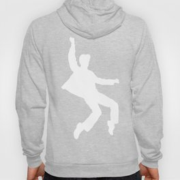 White Elvis Hoody