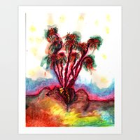 poetry Art Prints featuring Poetry by Emily Marchesiello