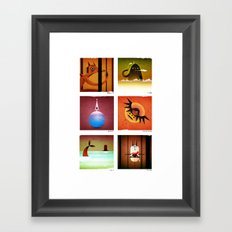 6 Mamaws Framed Art Print