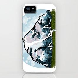 Bear Mountain iPhone Case