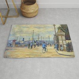 Armand Guillaumin - La Seine a Charenton Rug