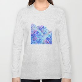 mountain of hydrangea Long Sleeve T-shirt