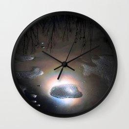 Rainbow Portal Stone Wall Clock