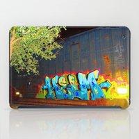 train iPad Cases featuring train by JuanPablo