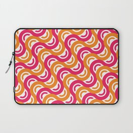 refresh curves and waves geometric pattern Laptop Sleeve