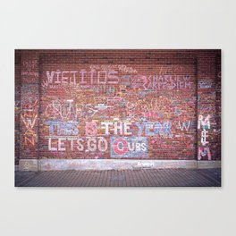 This is the Year - Wrigley Wall Canvas Print