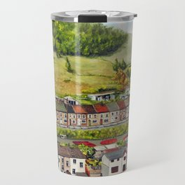 Cwm Parc, Treorchy, South Wales Valleys Travel Mug
