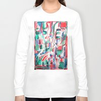 couple Long Sleeve T-shirts featuring Couple by 5wingerone