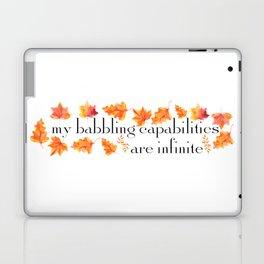 MY BABBLING CAPABILITIES Laptop & iPad Skin