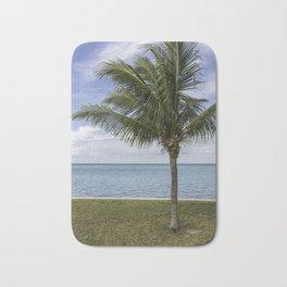Palm and the Ocean Bath Mat