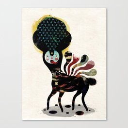 Muxxi & Alvaro Tapia / Duality Canvas Print