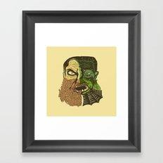 Quarter of a Monster Framed Art Print