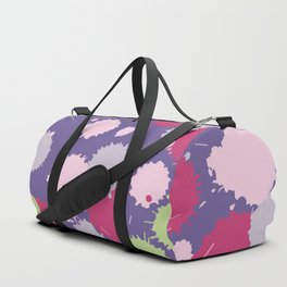 Blot ultra violet seamless pattern. Vector illustration Duffle Bag