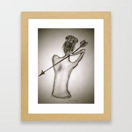 Little Secrets  Framed Art Print
