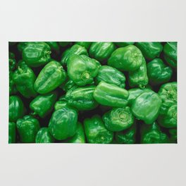 Green Peppers Rug