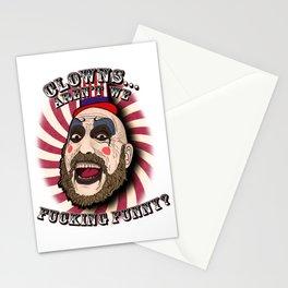 Captain spaulding | devils rejects Stationery Cards