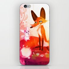 Fox and the Bunny iPhone & iPod Skin
