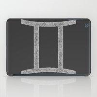 gemini iPad Cases featuring Gemini by David Zydd