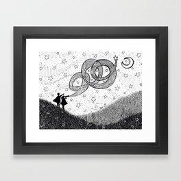 Bottling Starlight Framed Art Print