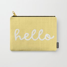 HELLO YELLOW Carry-All Pouch