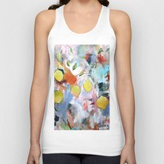 When Life Gives You Lemons, Paint Them Unisex Tank Top