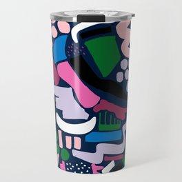 Dark colour scatter Travel Mug