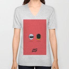 Daft Punk Unisex V-Neck